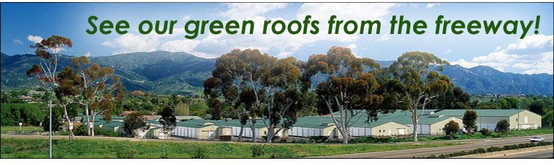 see our green roofs from highway 101