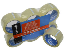 One Roll of Clear Tape, 2'' x 164'